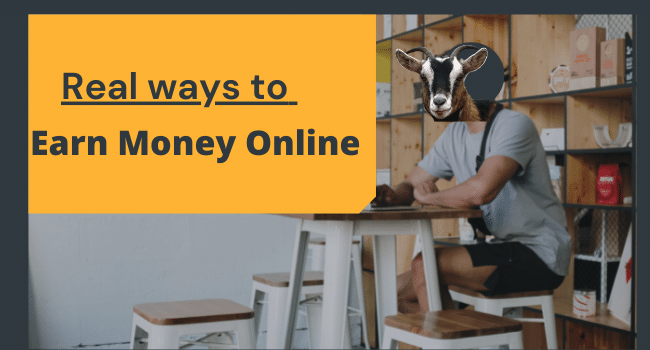 Real ways to earn money